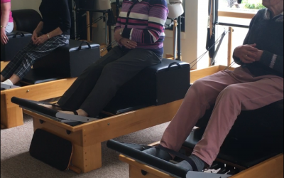 Older Adult Pilates classes; Tuesdays at 12pm in Roundwood & Fridays at 11am at South Beach Pavilion Studio